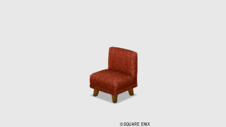 【ハウジング】家具 > いす「純喫茶のチェア」