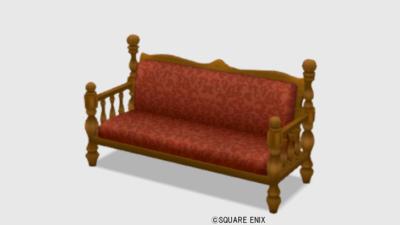 【ハウジング】家具 > いす「純喫茶のソファ」