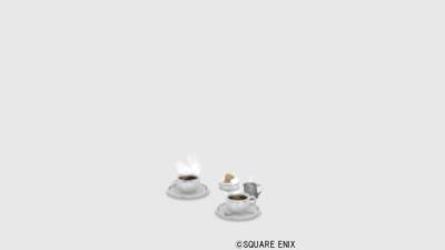 【ハウジング】家具 > その他「珈琲セット」