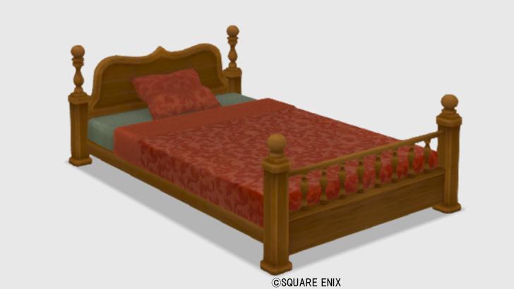 【ハウジング】家具 > ベッド「純喫茶のベッド」
