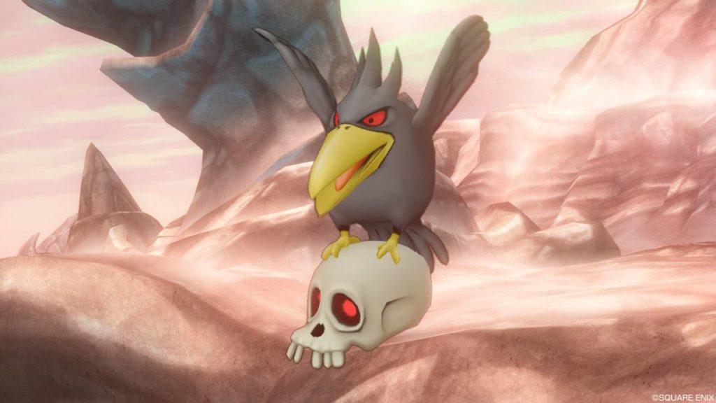 【ドラクエ10】モンスター>鳥系「フギンムニン」(おおがらす転生)